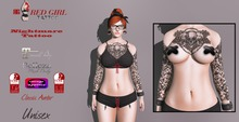 [RG] Nightmare Tattoo - Maitreya - Belleza - Slink - Omega