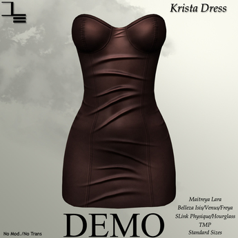 DE Designs - Krista Dress - DEMO