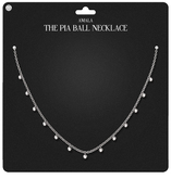 Amala - The Pia Ball Necklace - Silver