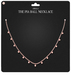 Amala - The Pia Ball Necklace - Rose Gold
