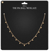 Piaballnecklace ad gold