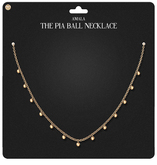 Amala - The Pia Ball Necklace - Gold