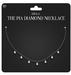 Amala - The Pia Diamond Necklace - Onyx