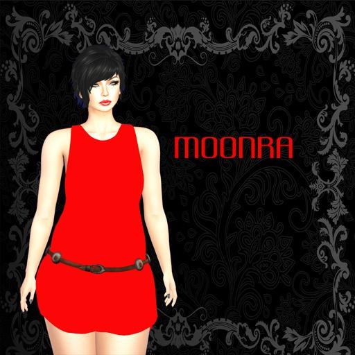 Moon® Reyhan Tank Dress Red