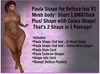 2 Paula Shapes! Thick& Short) for Belleza Isis V2 + SL & Catwa Head Shape by :.Unified.: