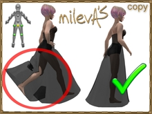 milevA's Locked Legs AOs * stop deforming long skirts