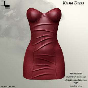 DE Designs - Krista Dress - Bubblegum