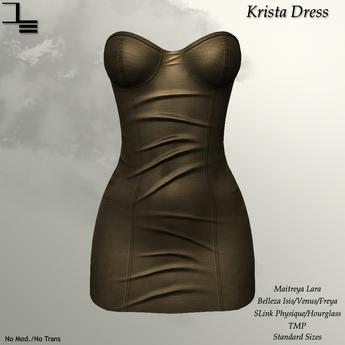 DE Designs - Krista Dress - Gold