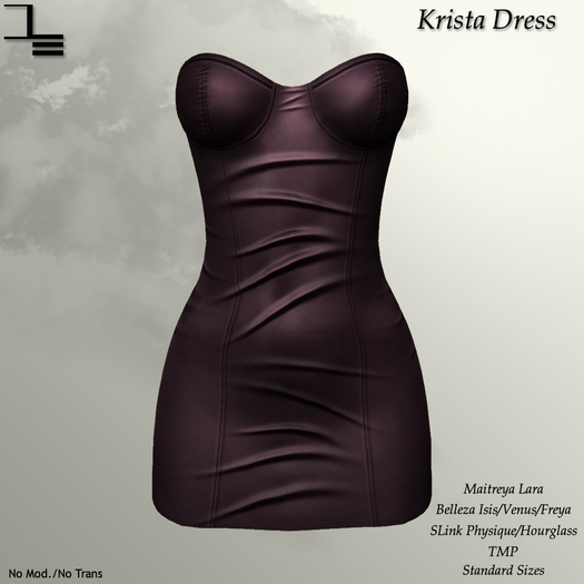 DE Designs - Krista Dress - Grape