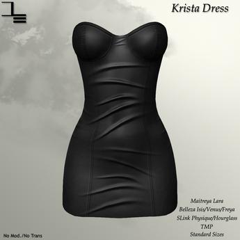 DE Designs - Krista Dress - Grey