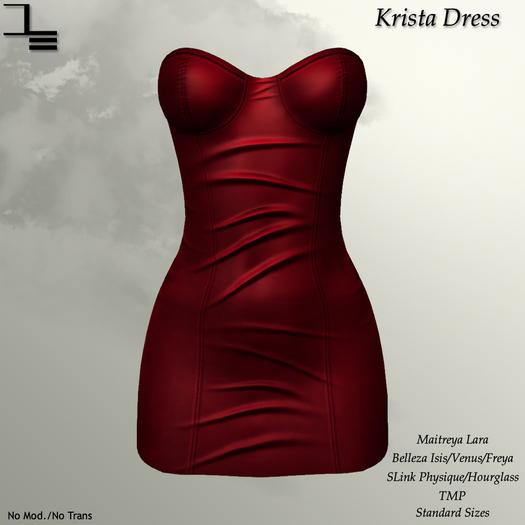 DE Designs - Krista Dress - Red