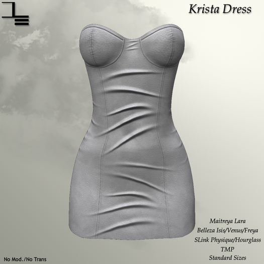 DE Designs - Krista Dress - White