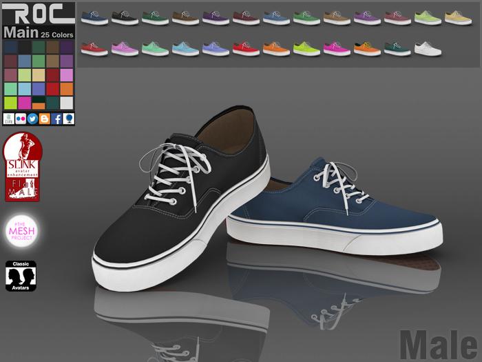 ::ROC:: Canvas Sneaker! Classic (MALE)