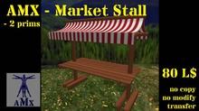 AMX-Market Stall (red/white)