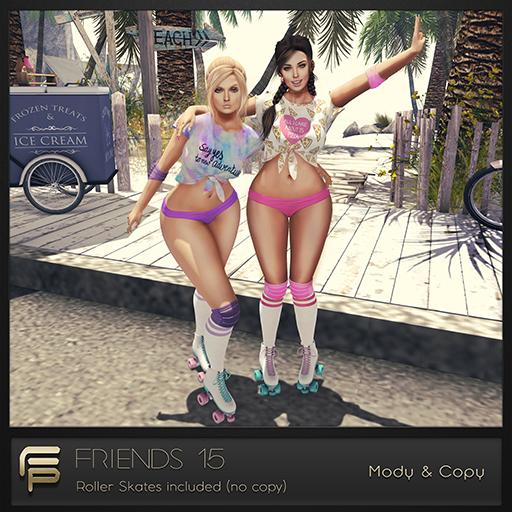 .Focus Poses. Friends 15