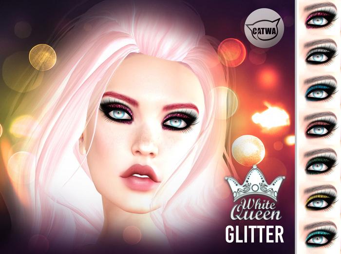::White Queen:: - glitter eyeshadow - catwa