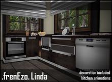 .frenEzo. Kitchen Linda BASIC Single Animations Decorations