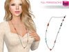 %50SUMMERSALE Full Perm MI Long Necklace with Beads