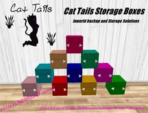 CAT TAILS Storage Boxes -  The BEST organizer out there