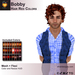 A&A Bobby Hair Red Colors Pack. Rockstar mens mesh hairstyle
