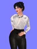"Ample Avi - ANNA [v2] - Curvy Lush Shape, Female Avatar Shape, Modifiable [6'4""]"
