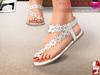 Full Perm MI Mesh Cute Flat Shoes For Classic and Slink Flat Feet