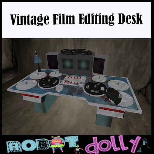 Vintage Film Editing Console