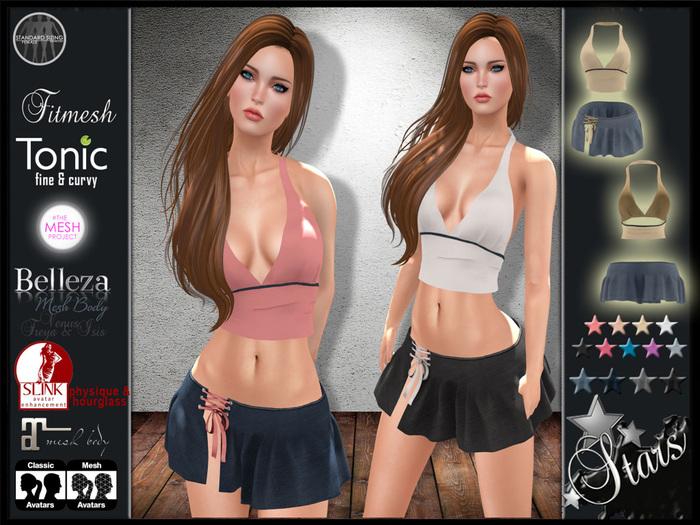 "Stars Fashion - Maitreya clothes & Slink, Freya, Isis, Venus, Tonic, TMP - ""Asia"""