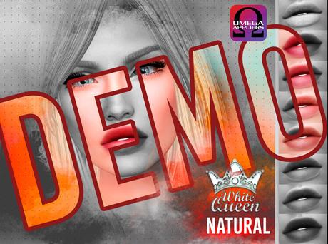 ::White Queen :: natural lipstick - omega DEMO