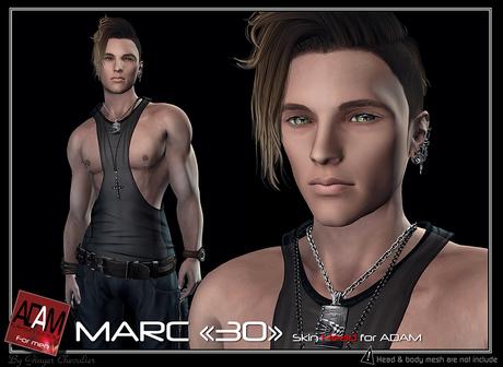 Adam-skin head Marc 30