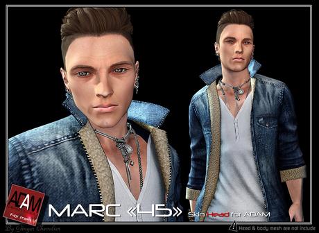 Adam-skin head Marc 45