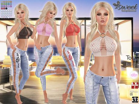 Sweet Temptations :: Surprise Outfit (Maitreya, Slink, Belleza, #TMP & Tonic) 19 C