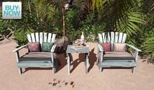 "<Heart Homes> ""Beach Couple"" Chair  Set (PG)  1.0 (Box, Copy"