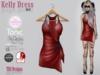 Kelly dress red