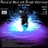Portal of Blue and Purple Electricity (Non-Rez Version)