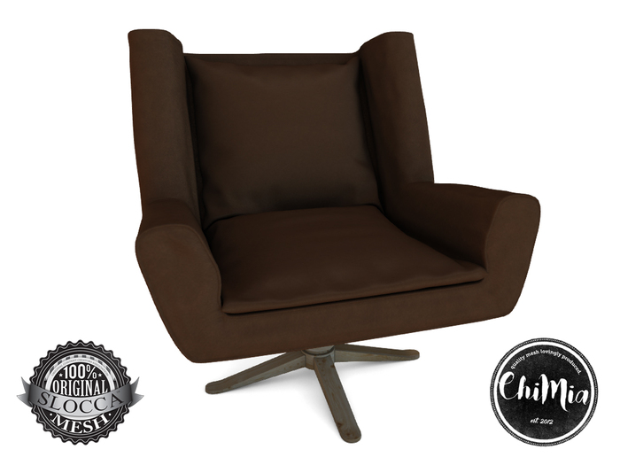 ChiMia:: Overtime Chair [coffee] PG