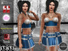 Roxy Outfit BLUE