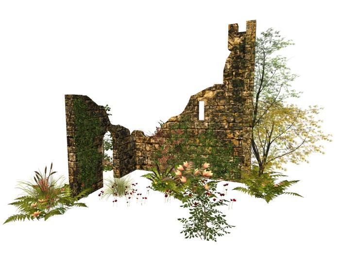 MSD - Castle Ruins Garden - Riva (30 LI) C/M