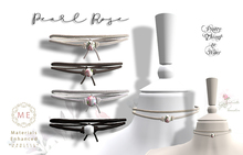 .::Pretty Things::. Rose & Pearl Choker