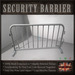 Security Barrier / Crowd Control Metal Fence
