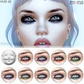 MONS / Lelutka Mesh Heads Makeup HUD (10)