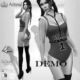 AdoreZ - Kim BodySuit and Boots  DEMO
