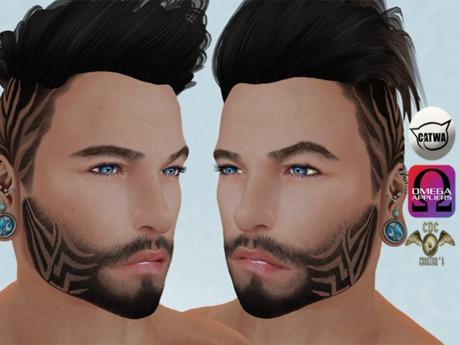 .:: CDC Face Beard Gift 02 *