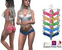 Eyelure APPLIERS Lace Cheeky Panty Pack   Hot Colors