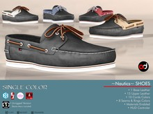 A&D Shoes -Nautics- Ebony