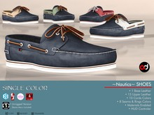 A&D Shoes -Nautics- Azure