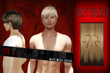 [Uw.st -7R-]  Aj-hair (prim+sculpted)  Holy golden