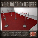 Red Carpet & Rope Barriers