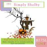 Simply Shelby Fall Harvest Scarecrow