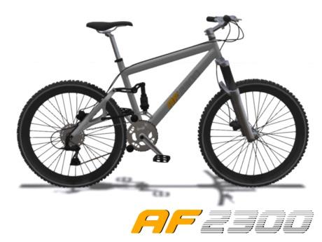 Mesh Mountain Bike V1.0 (Animated Pedaling, Unisex Bicycle)